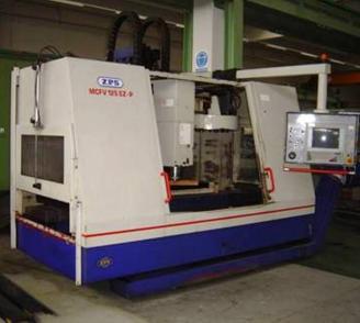 ZPS 125 EZ centro di lavoro verticale a CNC